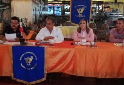 Felicitó Novelo a integrantes del ejido Nacionalista de Sánchez Taboada