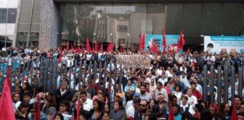 Telefonistas se movilizan contra separación funcional de Telmex