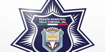 Detienen a director de Seguridad Pública de Villa Corona