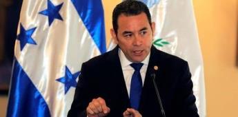 AMLO anuncia reunión con el presidente electo de Guatemala