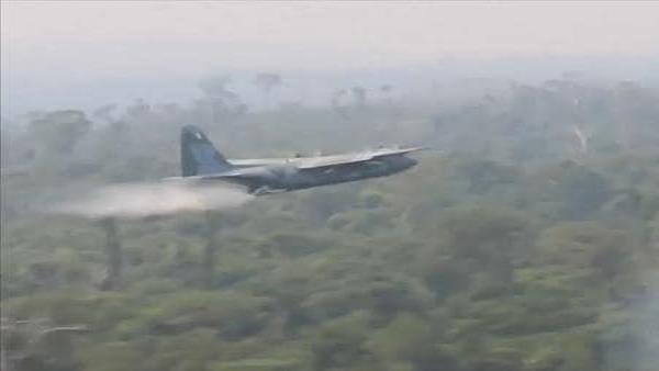 Varios estados de Brasil solicitan ayuda militar para combatir los incendios en el Amazonas