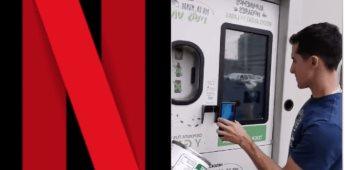 Ahora puedes pagar Netflix con latas recicladas en Tijuana