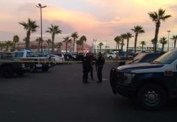 En balacera, patrulleros hieren a 3 ladrones de autos