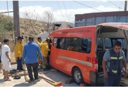 Choque Rosas Magallón deja dos lesionados