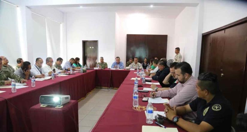 Realizan enésima reunión de seguridad con las Fuerzas Armadas