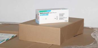 Llega a México cargamento de medicamento contra el cáncer