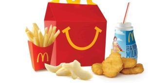 McDonalds hace más saludable la Cajita Feliz