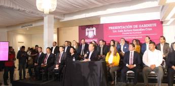 Nosotros tenemos el compromiso de hacer un gobierno responsable y eficiente : Arturo González Cruz