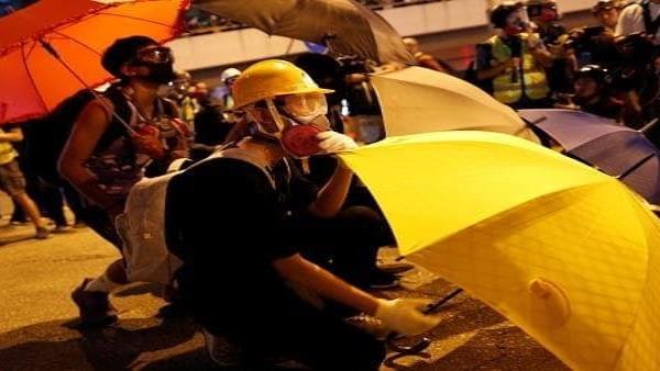 Nuevas manifestaciones en Hong Kong cinco años después de la Revolución de los Paraguas
