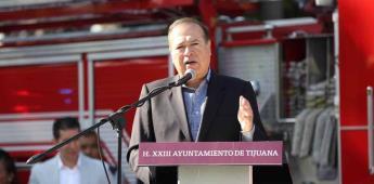 Toma alcalde primer pase de lista a policías municipales y bomberos
