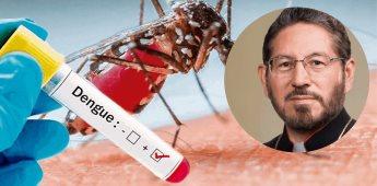 Reportan que arzobispo Hipólito Reyes Larios enfermó de dengue