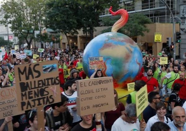 Rebelión global por la emergencia climática