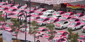 Taxistas paralizan la CDMX