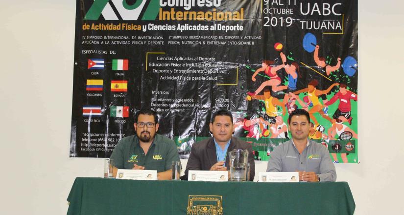 Arranca hoy XVI Congreso  de Actividad Física en UABC