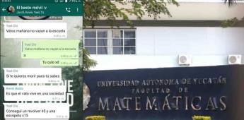 Alumno bromea con tiroteo y causa alarma en Universidad de Yucatán