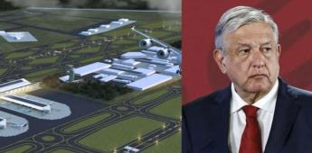Para 2021 quedará listo el aeropuerto en Santa Lucía: AMLO