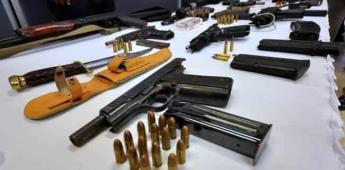 México pide cooperación tecnológica a EU para frenar tráfico de armas
