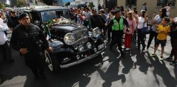 Restos de José José llegan al Panteón Francés, su última morada