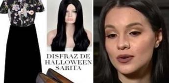 Crean el disfraz de Halloween de Sarita