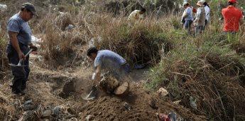 Crecen número de fosas clandestinas y cuerpos encontrados: Segob
