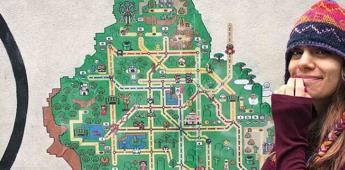 Crean mapa del Metro de la CDMX al estilo Super Mario World