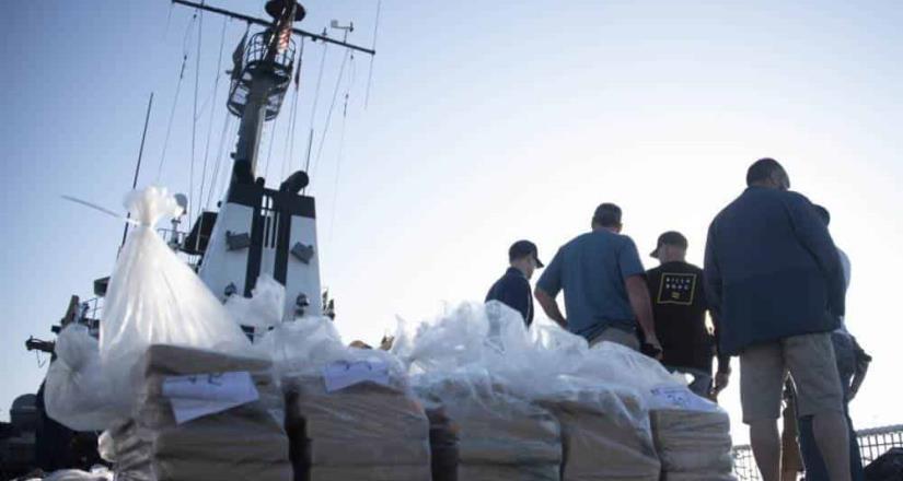 La Guardia Costera descargó en San Diego más de 92millones en cocaína incautada