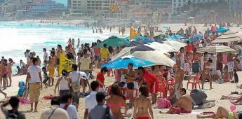 Reportan incremento en visitas de turistas internacionales a México