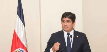 AMLO recibirá a presidente de Costa Rica
