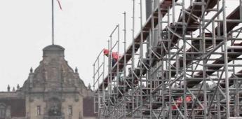 AMLO analiza celebrar primer año de Gobierno con informe en el Zócalo