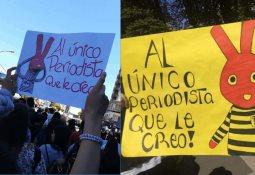 La marcha mas grande de Chile en contra del gobierno de Piñera