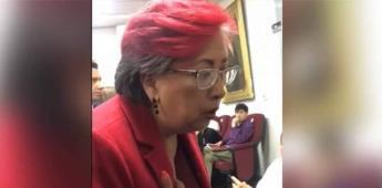 Diputada del Morena es apodada en redes como #LadyButacas