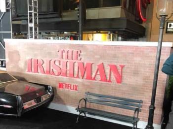 Alfombra roja de The Irishman