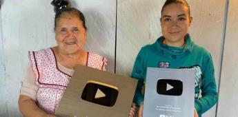 De mi rancho a tu cocina reciben botón de oro de Youtube