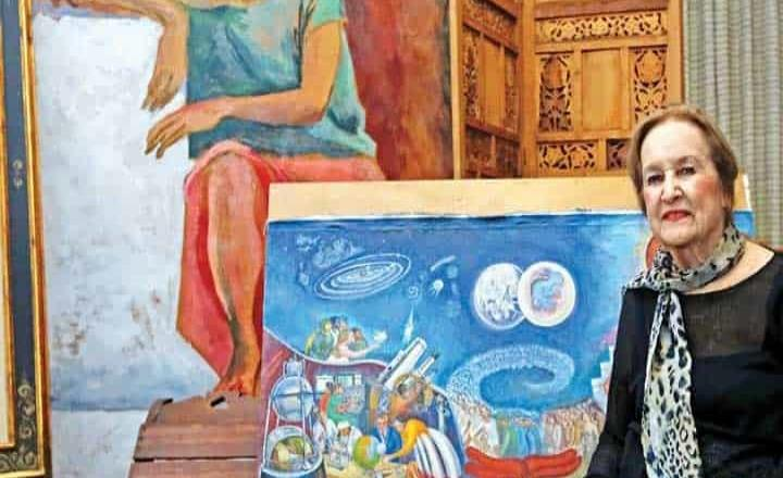 Fallece la pintora Rina Lazo, discípula de Diego Rivera