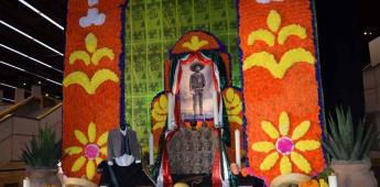 Inauguró el CECUT altar monumental a la memoria de Emiliano Zapata