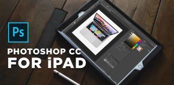 Ya podrás instalar Photoshop en tu  IPAD