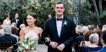 Heredero de Playboy se casa con actriz de Harry Potter
