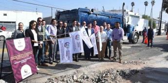 Aplica el Ayuntamiento 4 mdp en rehabilitar la calle Novena