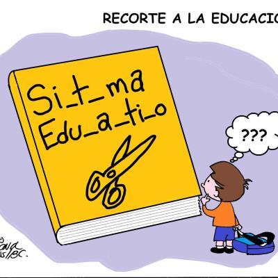 Recorte a la educación