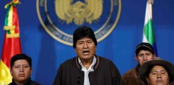 Evo Morales anuncia su retiró a la presidencia de Bolivia