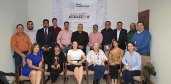 Presentan gabinete del gobierno del estado en el municipio de Tecate