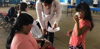 Llevaron una jornada médica a El Vergel