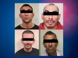 4 prófugos de la ley son detenidos