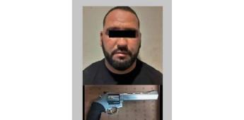 Intervención oportuna de agentes municipales permitió detener a hombre con arma