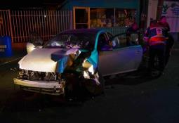 Accidentes, deslaves y encharcamientos en la zona sur