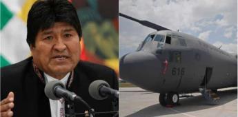 Avión mexicano busca a Evo Morales