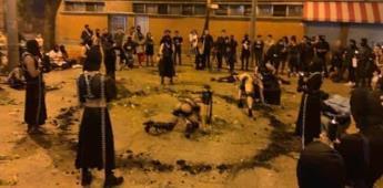 En Medellín confunden performance con ceremonia satánica