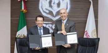 Firman convenio el ISSSTE y BANORTE en beneficio de la población que compre en tiendas  SUPERISSSTE