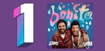 Juanes alcanza por duodécima ocasión la posición #1 de radio de Billboard en los Estados Unidos