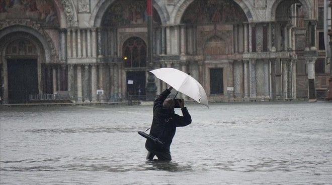 Venecia bajo las aguas